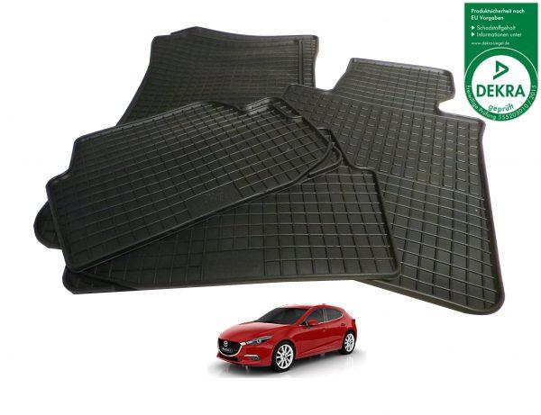 Gummimatten Mazda 3
